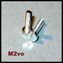 10ks M2 šroub 8mm