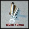 10ks M2 šroub 10mm