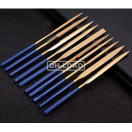 Titano-Diamantové pilníky 10ks