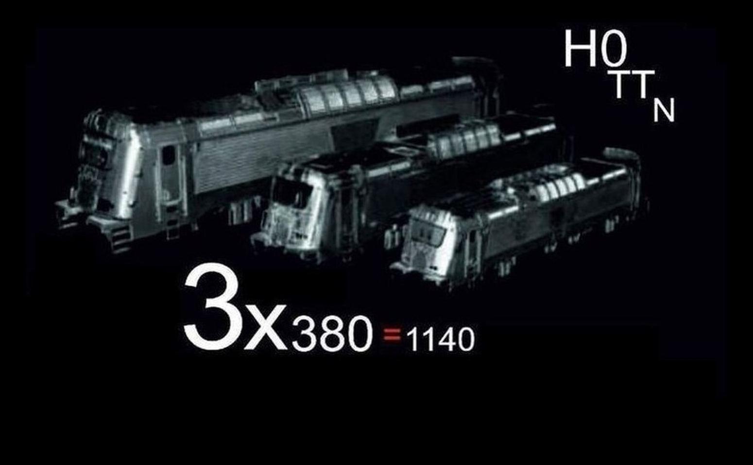380, 381, BR102, 109E  stavebnice a příslušenství dle měřítek